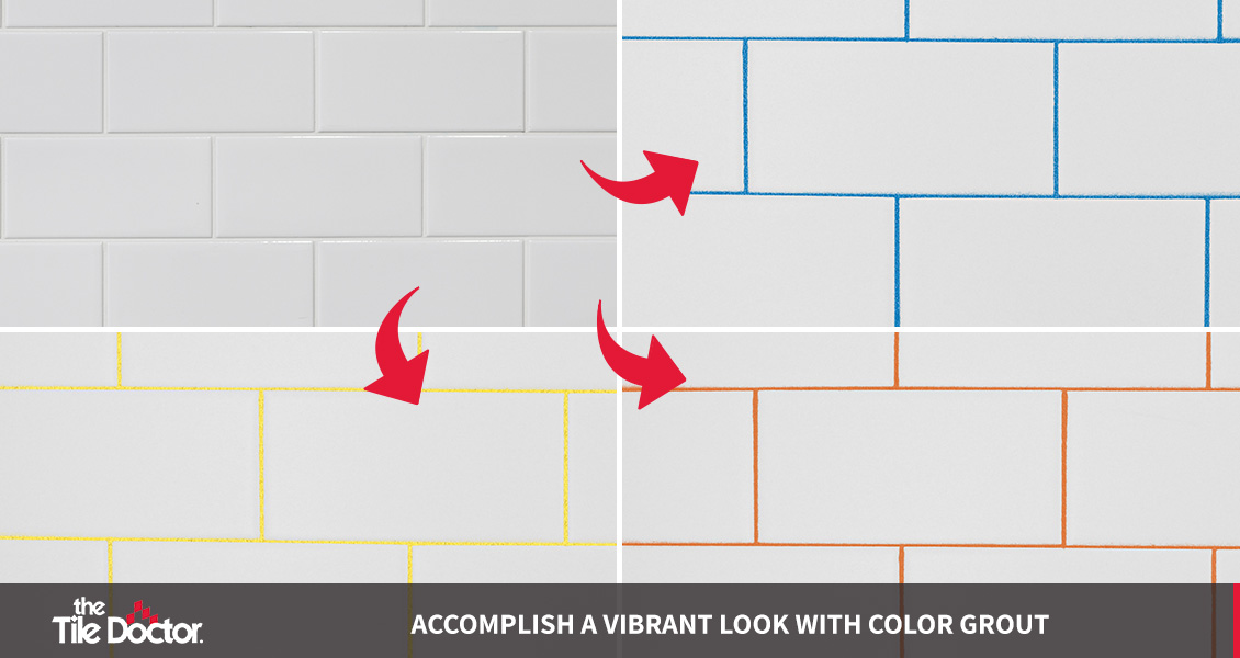 Vibrant Color Grout