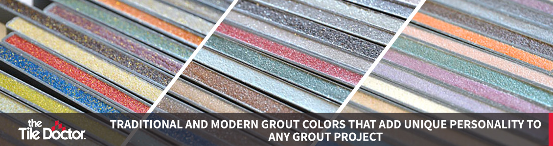 Different Types of Grout Colors
