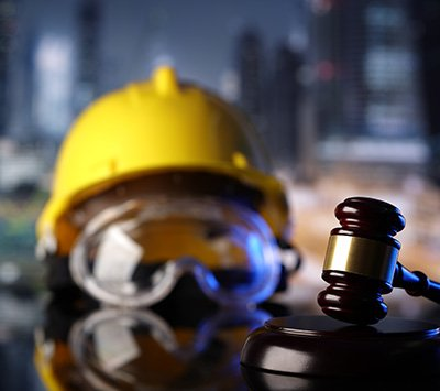 Image of Construction Equipment and Court Mallet