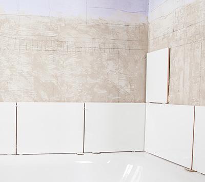 Tile Wall Installation