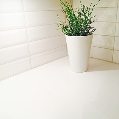 White Floor and Wall Tile