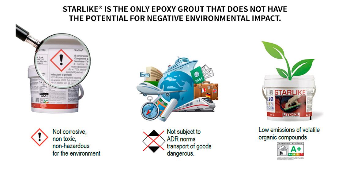 Toxic-Free Epoxy Grout