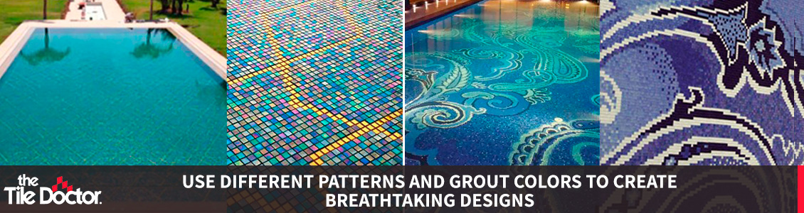 Pools with Different Patterns