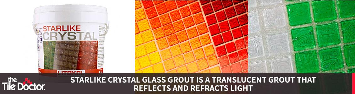 Litokol's Starlike Crystal Glass Grout