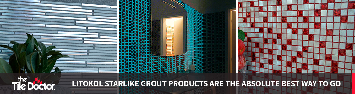 Examples of Starlike Epoxy Grout Installations