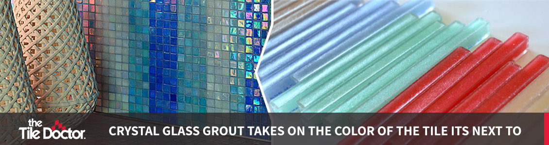 Colorful Crystal Epoxy Grout