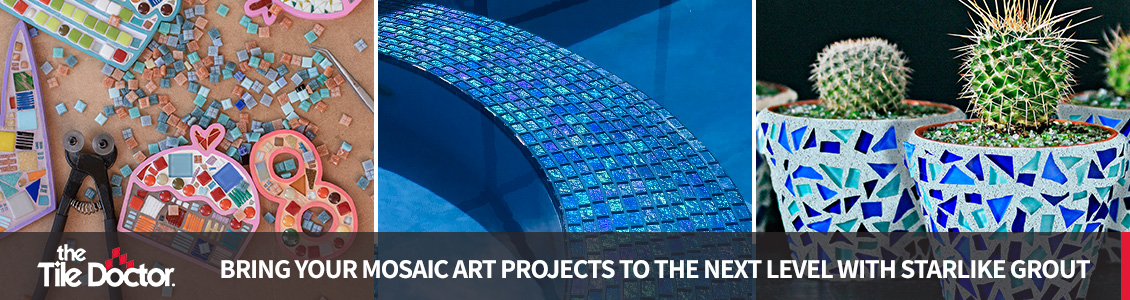 Bring your Mosaic Art Projects to the Next Level with Starlike Grout