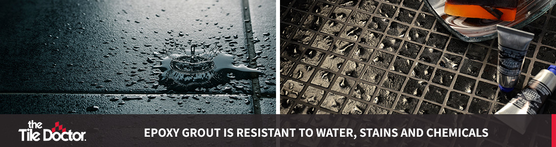 Water Resistant Epoxy Grout