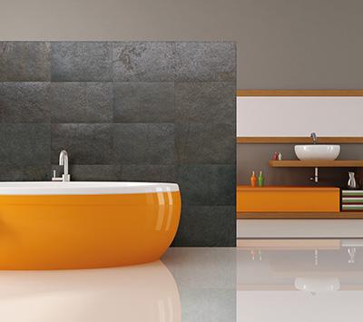 Picture of VersaLite Stone Veneer in Bathroom