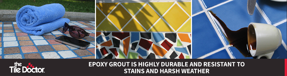 Starlike Toxic Free Epoxy Grout is Water, Stain and Crack Resistant