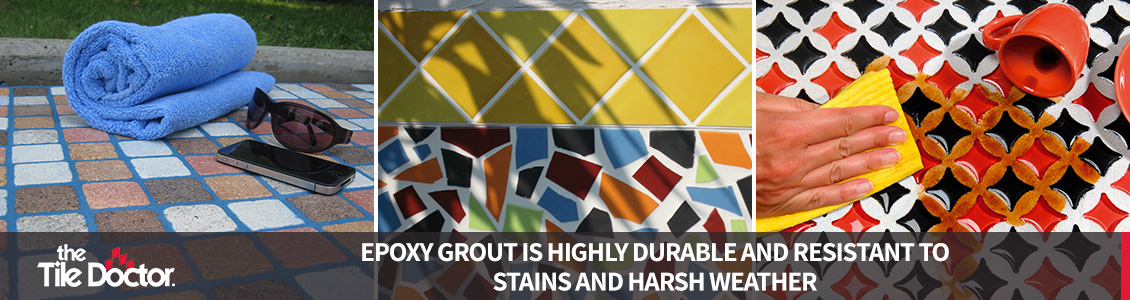 Weather Resistant and Durable Epoxy Grout