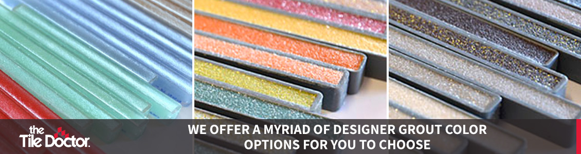 Designer Grout Color Options