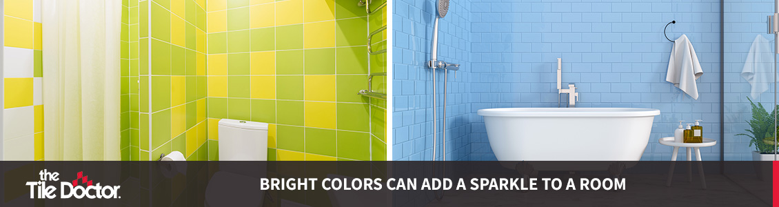 Light Grout Bathrooms