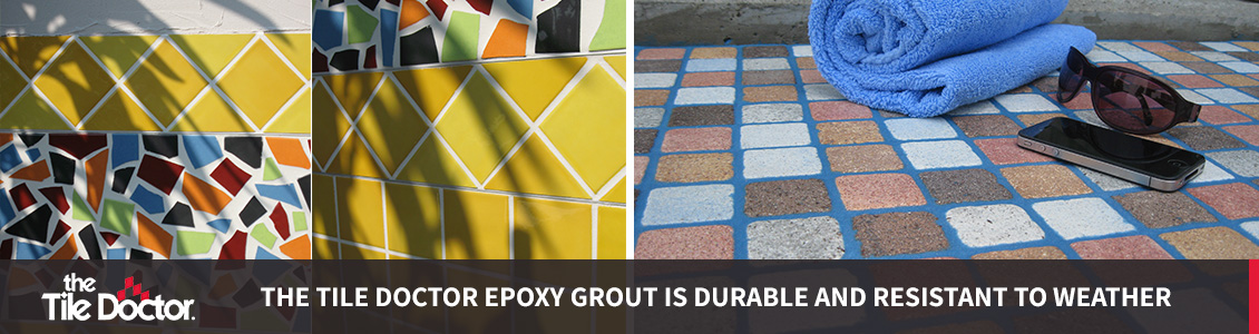 Weather Resistant Epoxy Grout