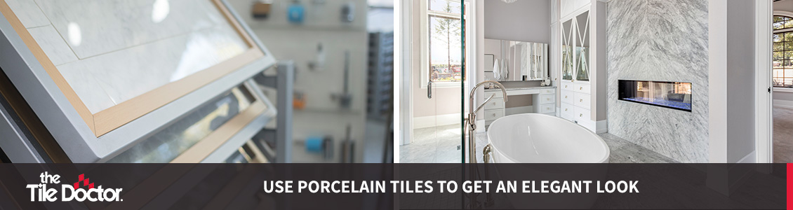 Porcelain Tile Examples and Bathroom