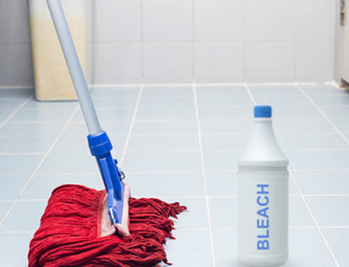 Will Bleach Discolor Grout?