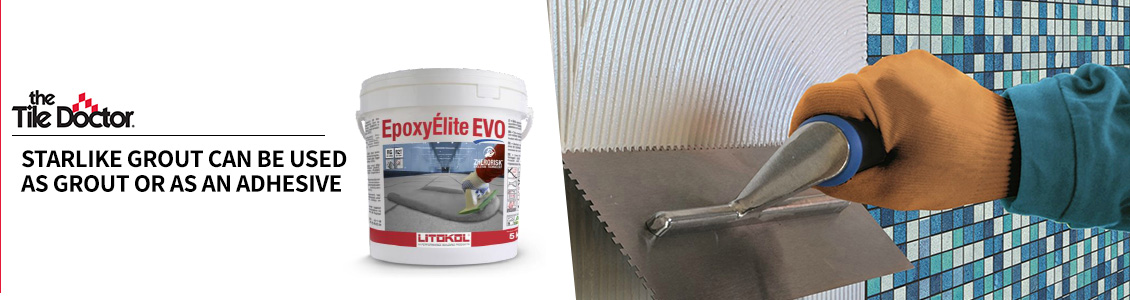 Starlike Grout Application