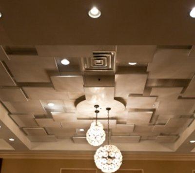 Modern Beige Ceiling