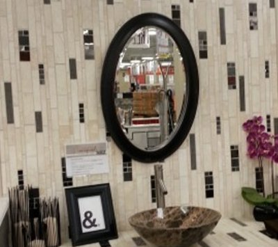 Marble Wall With Mirror