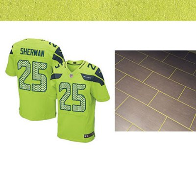 Sports Inspired Green Grout