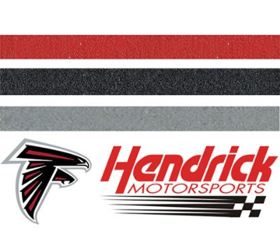 Sports Inspired Red, Grey and Black Grout