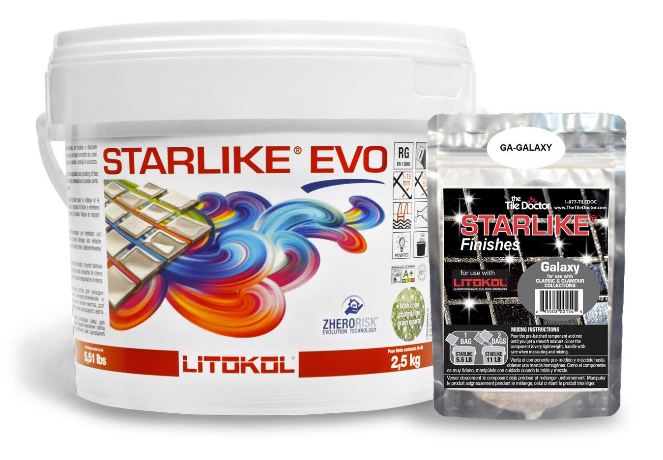 Starlike EVO Classic Grout + Galaxy Additive