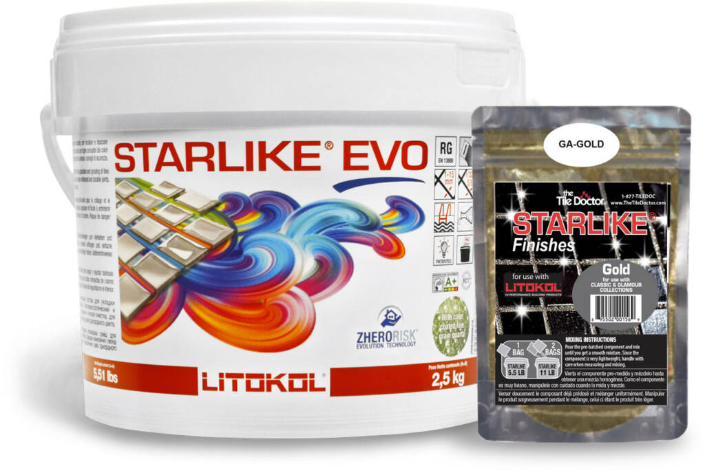 Starlike EVO with the Gold Shimmer Finish