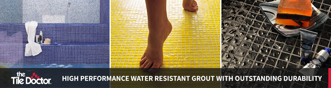 Waterpoof Grout Installations